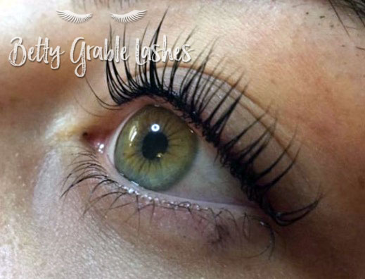 Lash Lift and Tint on Natural Lashes